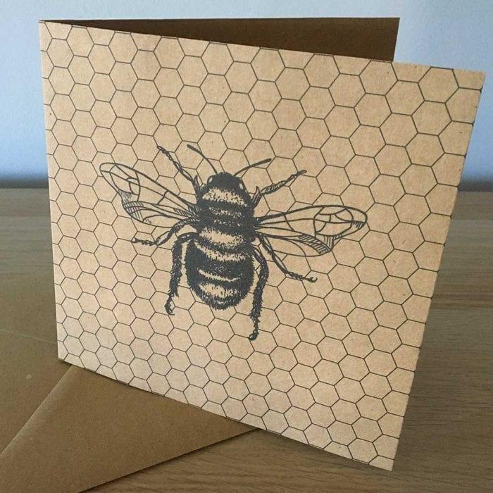 Bumblebee eco card